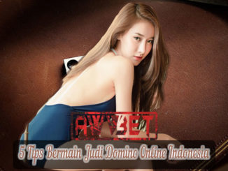 5 Tips Bermain Judi Domino Online Indonesia