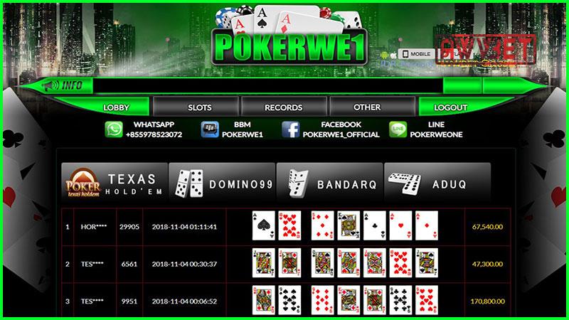 permainan pokerwe1
